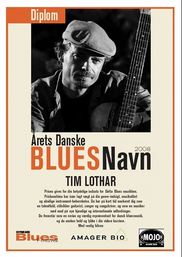 Danish Blues Musician of the Year 2008
