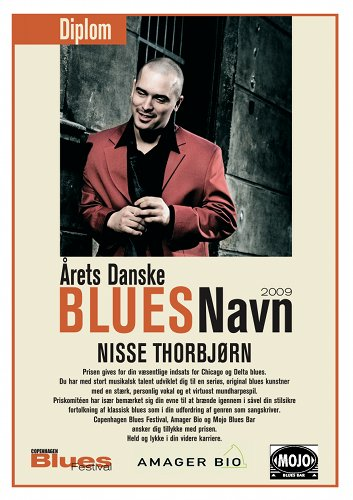 Danish Blues Musician of the Year 2009