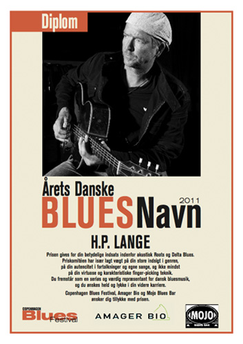 Danish Blues Musician of the Year 2011