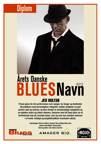 Danish Blues Musician of the Year 2012