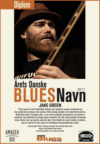 Danish Blues Musician of the Year 2017